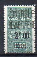 Algérie Colis-Postaux N° 36a Neuf * - Variété '2 De 2F00 Modifié' - Parcel Post