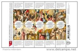 Nederland / The Netherlands - Postfris / MNH - Sheet Jheronimus Bosch 2016 NEW!! - Period 2013-... (Willem-Alexander)