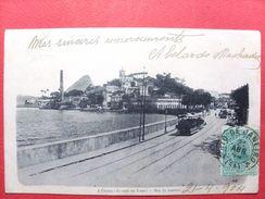 Brésil ,rio De Janeiro ,a Gloria (do Caes Da Lapa ) En 1904.....timbres Et Cachets - Rio De Janeiro