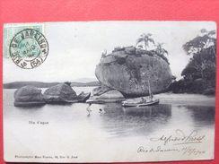 Brésil ,ilha D'agua  En 1904.....timbres Et Cachets - Brésil