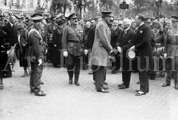 REAL Photo / Belgium / Belgique / Roi Albert I / Koning Albert I / Monument Aux Héros De L'air 1914-1918 / 1926 - Guerre, Militaire