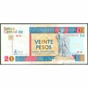 TWN - CUBA FX50a - 20 Pesos 2006 EB 10 - 798635 F/VF - Cuba