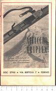 Advertising - Attacchi Triplex. Style Torino - Pubblicità 1947 - Pubblicitari