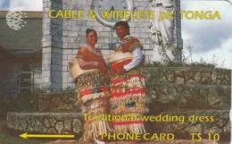 Tonga - Traditional Wedding Dress - 1CTGB - Tonga