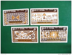 WALLIS YVERT POSTE AERIENNE N° 58/61 NEUFS** LUXE - MNH - COTE 19,70  E - Wallis Y Futuna