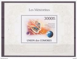 0293 Comores 2010 Meteoriet Meteor Meteorite S/S MNH - Astrologie