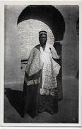 CPA Burkina Faso Haute Volta  Ethnic Afrique Noire Type Le Roi Des Mosses Moro Naba Non Circulé Lattes 60 - Burkina Faso
