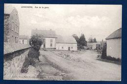 Lavacherie (Sainte-Ode). Rue De La Gare. (Gare Vicinale - 1901) - Sainte-Ode