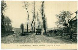 76 CRIEL-SUR-MER ++ Fourche Des Routes D'Assigny Et De Dieppe ++ - Criel Sur Mer