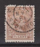 NVPH Nederland Netherlands Pays Bas Niederlande Holanda 36 CANCEL GRONINGEN ; Koningin Queen Reine Wilhelmina 1891-1894 - Gebruikt