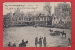 Carte / Grande Place De Furnes / Victoire De L'Yser / Roi Albert Et Président Poincaré - Bredene