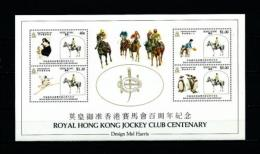 Hong Kong (Británico)  Nº Yvert  HB-4  En Nuevo - Hojas Bloque