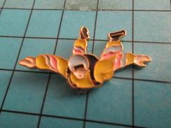 Pin413f Pin's Pins / Rare Et De Belle Qualité !!!  SPORTS : PARCHUTISME PARA PARACHUTE CHUTE LIBRE - Parachutting