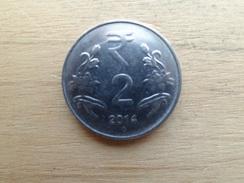 Inde  2 Rupees  2014  Km 395 - Inde