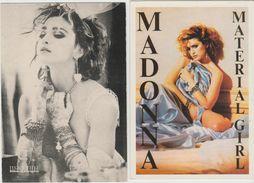 MADONNA  Lot De 4 Cartes Postales - Musique Et Musiciens