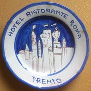 Piatto Buon Ricordo - Trento - Hotel Ristorante Roma - Magretto Di Manzo - 4E - Oggetti 'Ricordo Di'