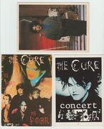 THE CURE  Lot De 3 Cartes Postales - Musique Et Musiciens