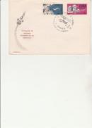 CUBA  - LETTRE AFFRANCHIE N° 839 - 840 AVEC OBLITERATION ILLUSTREE CONCORDANTE-1965- - FDC & Gedenkmarken