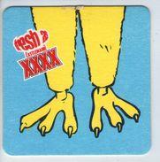 UNUSED BEERMAT - CASTLEMAINE LAGER (AUSTRALIA) - FRESH AS CASTLEMAINE XXXX - (Cat 058) - (1998) - Portavasos