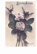 BONNE ANNEE, Roses, Ed. Trianon 1920 Environ - Nouvel An