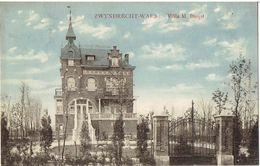 ZWYNDRECHT-WAES - Villa M. Buijst - M. Marcovici - Uitg. G. Hameau - Zwijndrecht