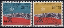 LIECHTENSTEIN 1960 Nº 353/54 USADO - Liechtenstein