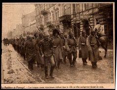 1914  --  POLOGNE  LA REDDITION DE PRZEMYSL DEFILE DES RUSSES VICTORIEUX  3M795 - Vieux Papiers