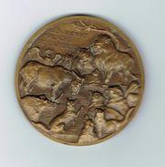 Les Animaux Malades De La Peste,les Fables De La Fontaine 1940,uniface - France