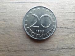 Bulgarie  20  Stotinki  1999  Km 241 - Bulgaria