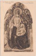 245 - LA VERGINE COL FIGLIO E S ANNA FIRENZE GALLERIA ANTICA E MODERNA ( MASACCIO ) 1930 CIRCA - Pittura & Quadri