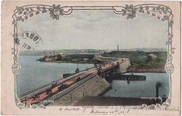 GLEBE ISLAND BRIDGE.  View Of Sydney. - Sydney