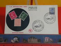 Coté 3€ > La Semeuse De Piel 1961 Musée Postal 4 Rue St Romain Paris > 23.2.1961> Paris 75 > FDC 1er Jour - 1960-1969