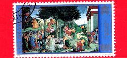 Nuovo - Oblit. - VATICANO - 2000 - La Cappella Sistina Restaurata - Botticelli - Le Prove Di Mosè - 1000 - Vatican
