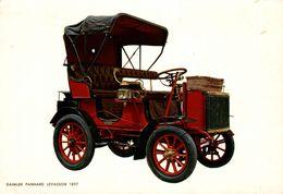 AUTOMOBILE  DAIMLER PANHARD LEVASSOR 1897 - Turismo