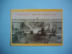 RENNES LE CHATEAU - 11  - Double Escalier De La Terrasse Et Jardin  -  Abbé SAUNIERE  -  Collection PEGASE  - AUDE - France