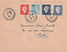 Timbre Dulac Sur Lettre Oblitéré Affranchissement  , Pas De Cachet D'arrivée - Postmark Collection (Covers)