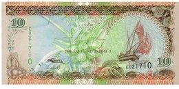 SEYCHELLES 5 RUPEES 1968 P 14 AU-UNC - Seychellen