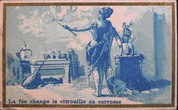 """Très Belle Chromo. Tour Doré - CHOCOLATS PAILHASSON , Lourdes - """"Cendrillon"""" - La Fée Change La Citrouille En Ca - TBE - Chocolate"""