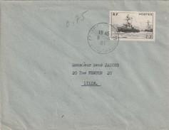 Timbre 752 Seul  Sur Lettre  , Pas De Cachet D'arrivée - Postmark Collection (Covers)