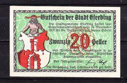 Notgeld, Stadt Eferding, 20 Heller, 1919 (43532) - Oesterreich