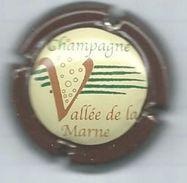 250 CH - CHAMPAGNE VALLÉE DE LA MARNE - CONTOUR MARRON - Vallée De La Marne
