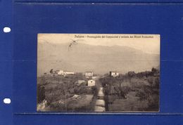 ##(YEL)-Italia - Paliano (Frosinone) - Passeggiata Dei Cappuccini E Veduta Dei Monti Prenestini - Usata 1916 - Frosinone