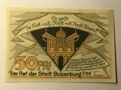 Allemagne Notgeld Boizenburg 50 Pfennig - Collezioni
