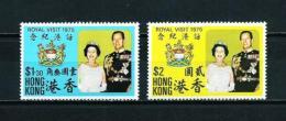 Hong Kong (Británico)  Nº Yvert  295/6  En Nuevo - Hong Kong (...-1997)
