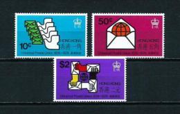 Hong Kong (Británico)  Nº Yvert  290/2  En Nuevo - Hong Kong (...-1997)