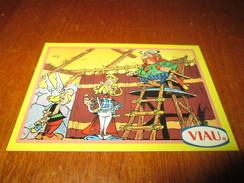 Asterix , La Collection ,ASSURANCETOURIX , Base Card 5 1996 By Viau - Tarjetas De Colección