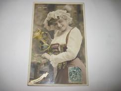 CPA VERA LEDOT Artiste De THEATRE 1907    T.B.E. (souvenir) Colorisée - Artistes