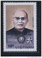 Vietnam Viet Nam MNH Perf Stamp 1988 : Birth Centenary Of President Ton Duc Thang (Ms548) - Vietnam