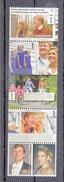 Nederland 2014 Nvph Nr 3204 - 3208 Mi Nr 3257 - 3261 ;12 1/2 Jaar Koninklijk Huwelijk Willem-Alexander En Maxima Posfris - Period 2013-... (Willem-Alexander)