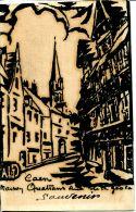 N°59515 -carte Caen -rue Froide- - Caen